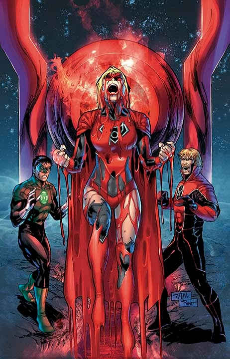 guerre univers green lantern red lantern 28