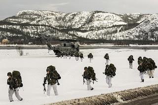 Norwegia Izinkan Pengerahan 330 Marinir Amerika, Dengan Targetkan Nuklir Rusia - Commando