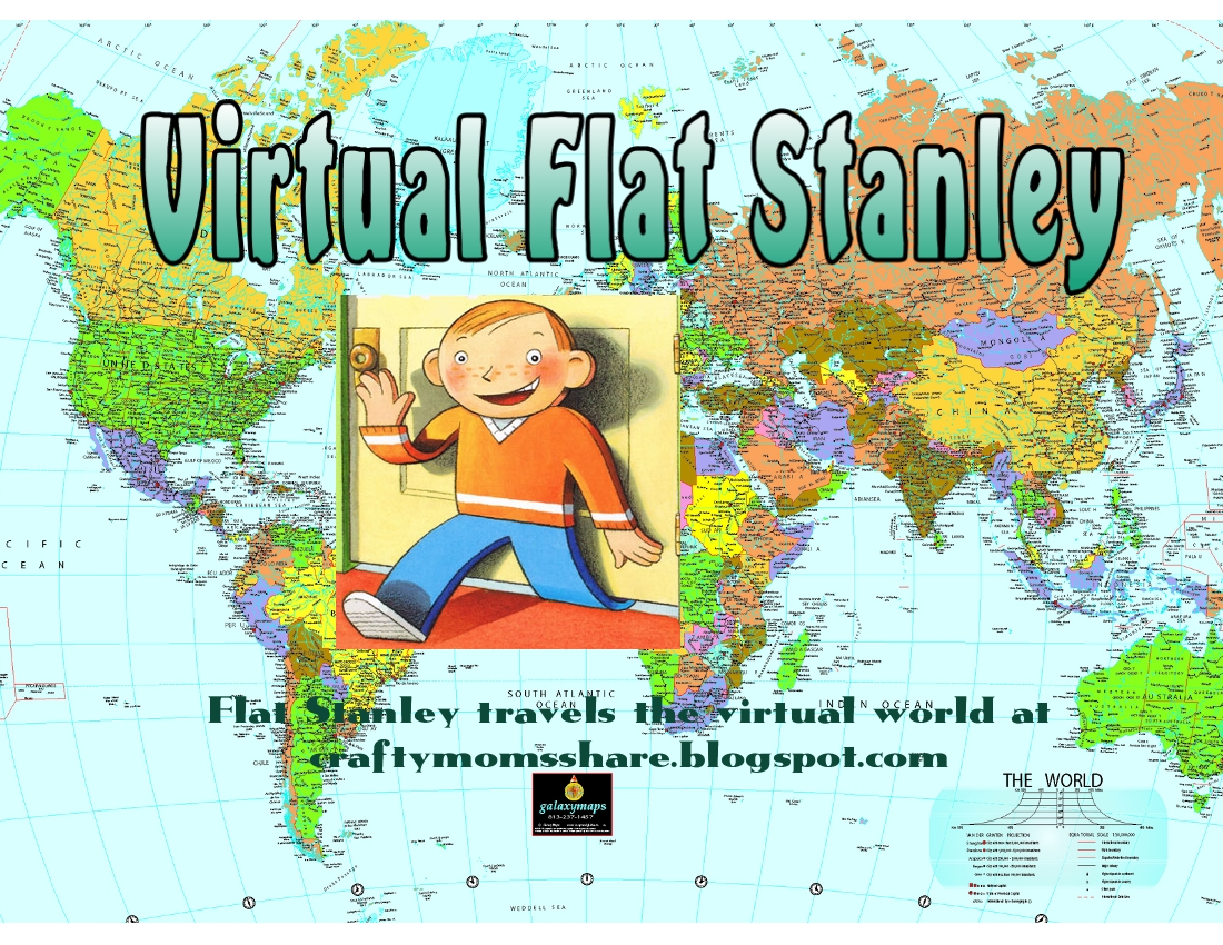 Crafty Moms Share Virtual Flat Stanley