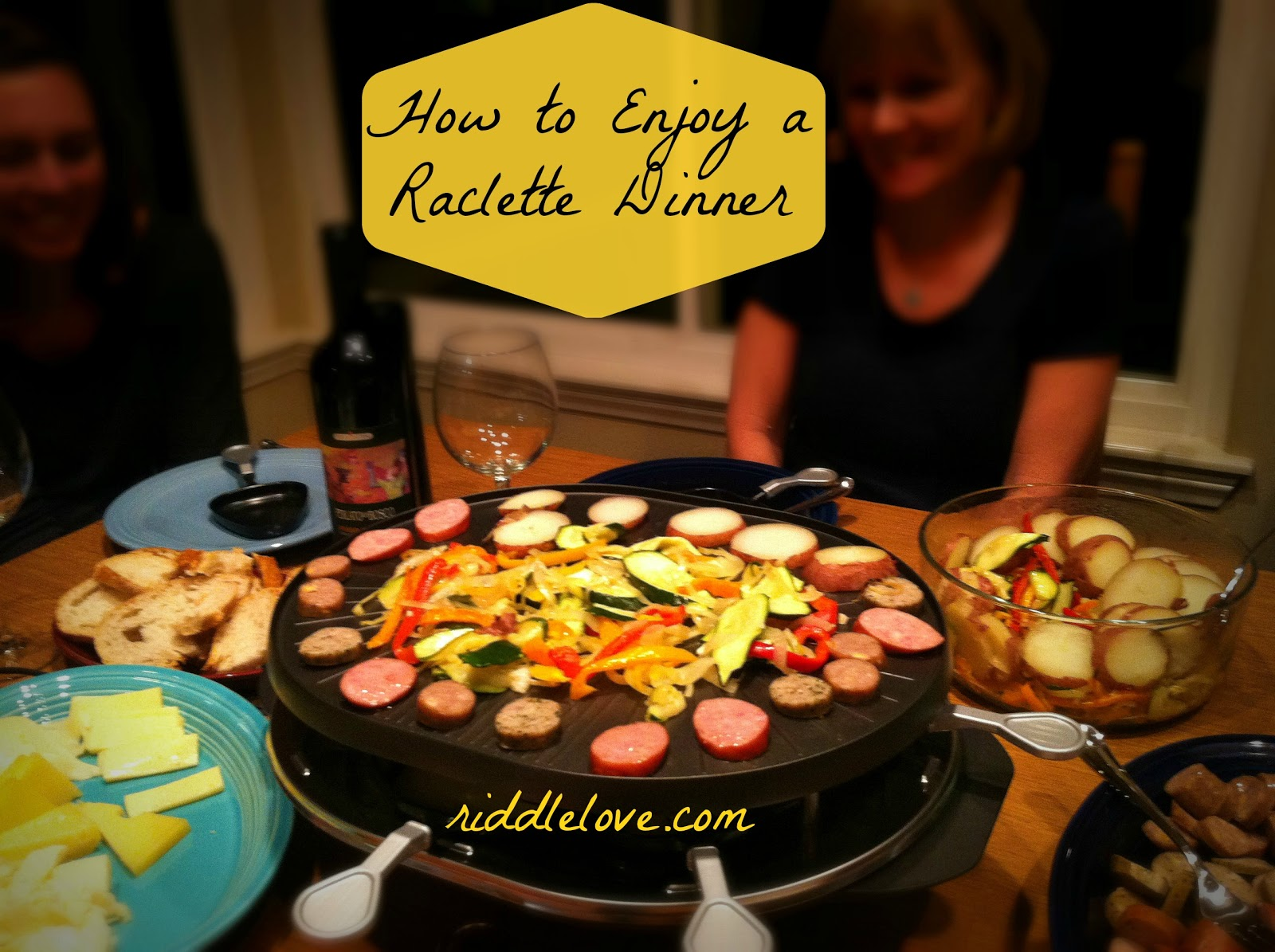 Idée Recette Conviviale Riddlelove Raclette An Old Swiss Dinner Naturally