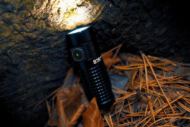Olight S1R BatonII z diodą sygnalizującą stan baterii powyżej 60%