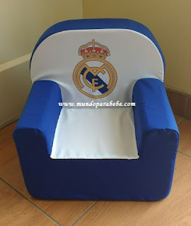 sillon infantil Real Madrid