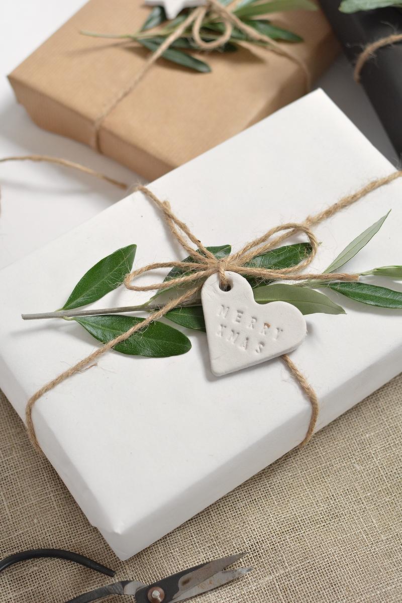 Diy Minimal Clay Gift Tags Burkatron