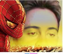 MONTAGEM COM SUPER HEROI