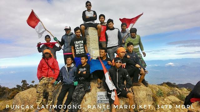 Pendakian perdana Arenpala di Gunung Latimojong