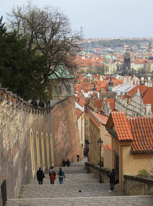 Prague Castle | Happy in Red