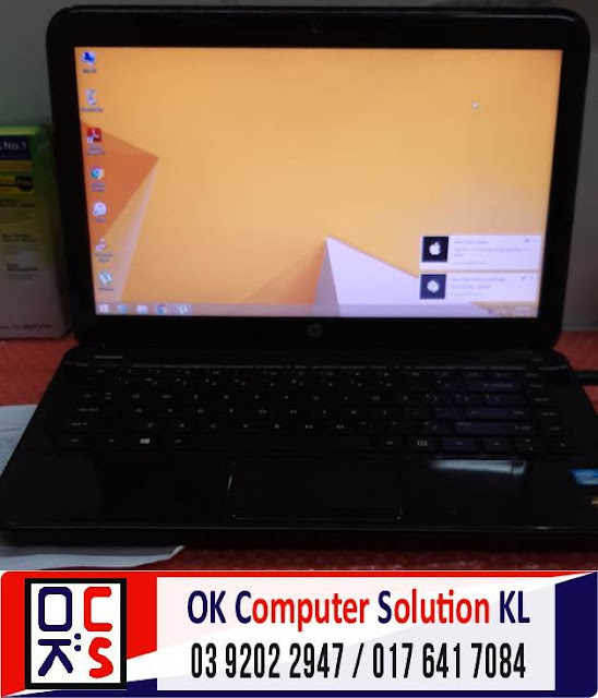 [SOLVED] HP G4-2207TX GRAPHIC PROBLEM | REPAIR LAPTOP AMPANG 2