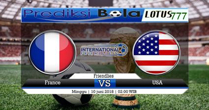 Prediksi Prancis vs Amerika Serikat 10 Juni 2018