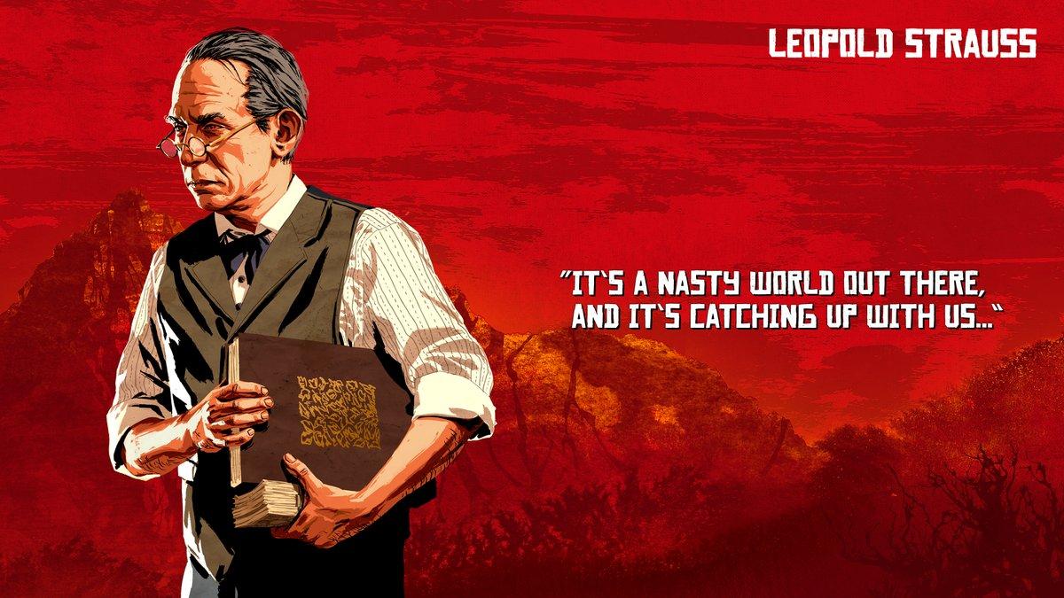 Leopold Strauss - Red Dead Redemption 2
