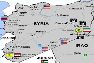 US-controlled areas of Syria