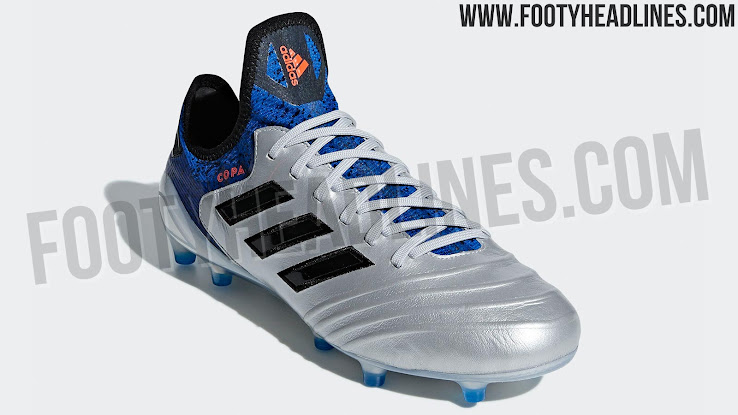 reputable site 1f48c b1914 Pure Class Silver Adidas Copa 18 Team Mode Boots Leaked - Fo