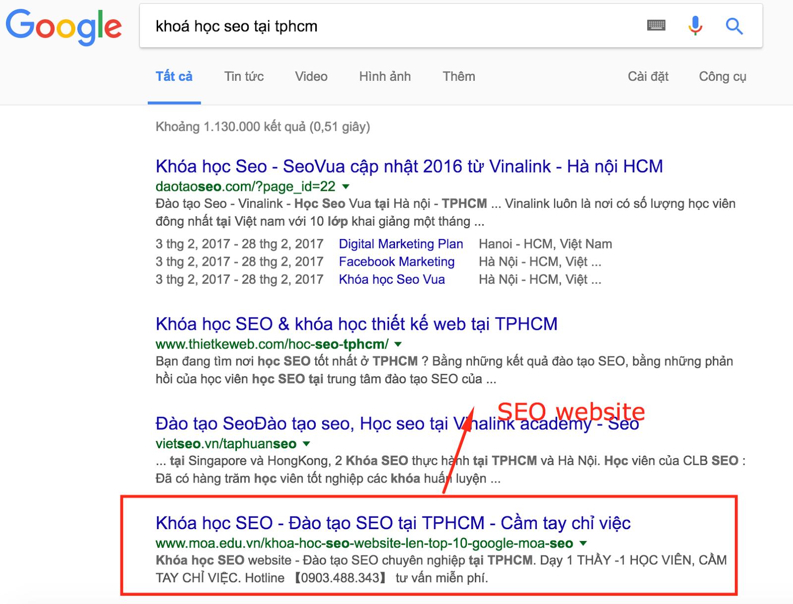 Google seo có lợi ích như thế nào