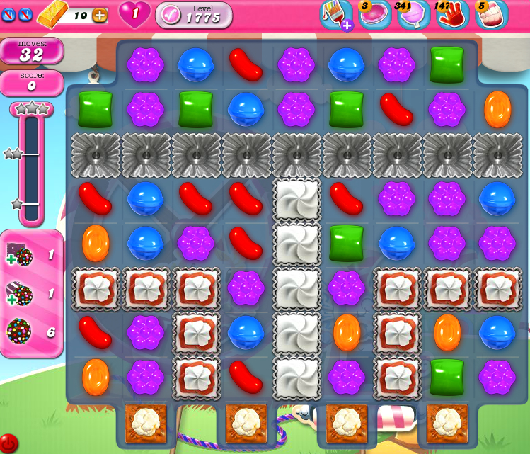 Candy Crush Saga 1775