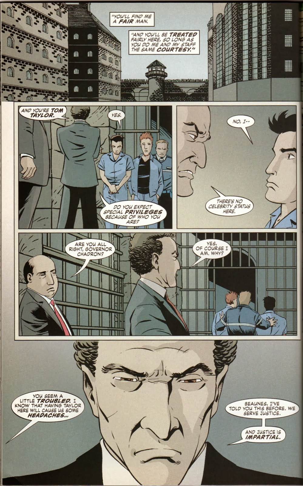 The Unwritten: Inside Man by Mike Carey and Peter Gross