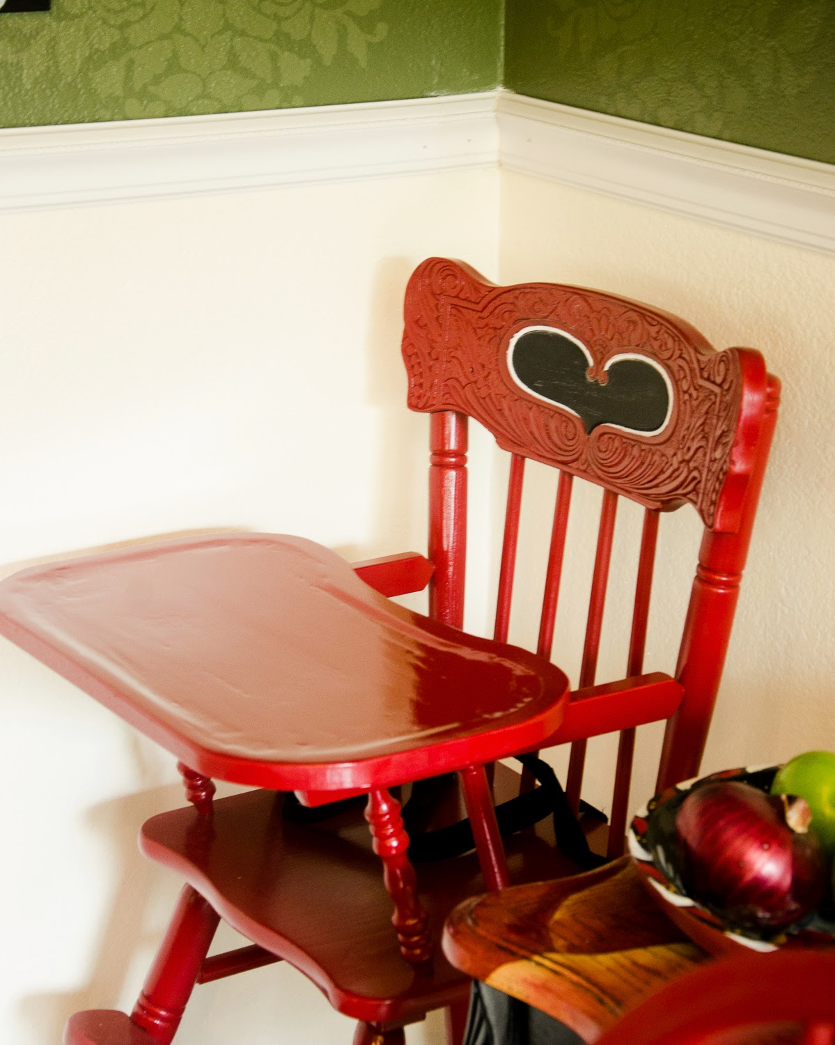High Chair Upside Down Mima The Adventures Of Mrs Mayfield Refinishing A Vintage