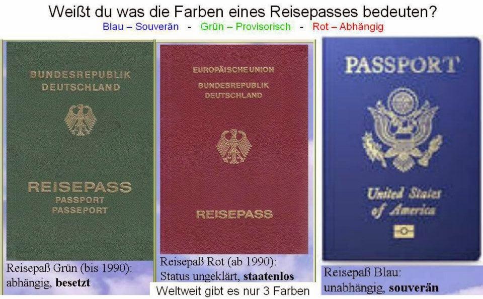 Blauer Reisepass Deutsches Reich Beantragen