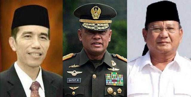 Jenderal Gatot Mengancam Elektabilitas Prabowo Bila Skenario Jokowi-Gatot Terjadi