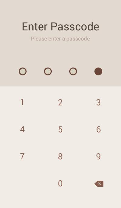 SIMPLE brown×beige