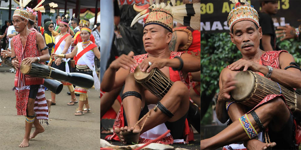 Gendang Beriak, Alat Musik Tradisional Suku Dayak