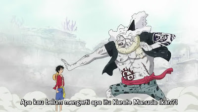 Hody VS Luffy