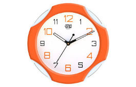 Estilo Plastic Analog Wall Clock For Rs 311 (Mrp 799) at Amazon deal by rainingdeal.in