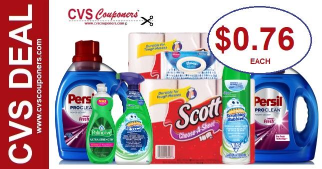 Persil & Scott Paper Towel CVS Deal  519-516