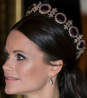 Napoleonic Amethyst Parure Tiara Sweden Princess Sofia