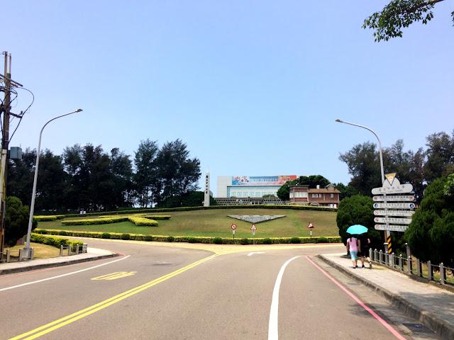 中央大學校門口