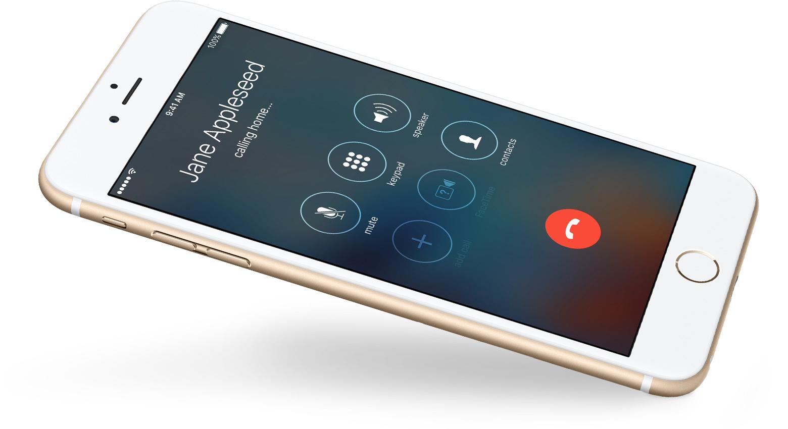 iphone 4 full screen caller photo