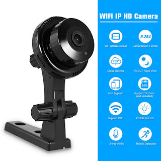 qi ip camera wireless mini Q1