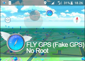 Download Fly GPS Versi 4.0.2 Apk for Pokemon Go Android (Fake GPS No ROOT)