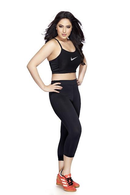 Nikesha Patel Picture In black Dress