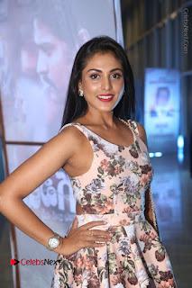 Actress Madhu Shalini Stills in Floral Short Dress at RGV Shiva to Vangaveeti Event  0040.JPG