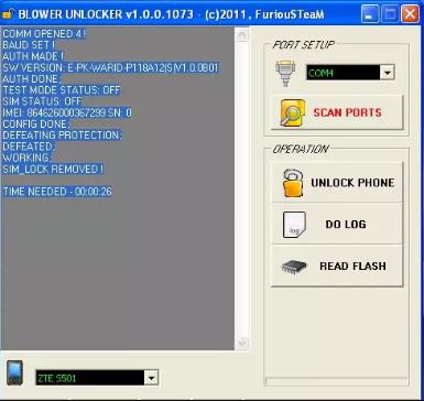 BLOWER UNLOCKER v1 0 0 1854 (Unlock Code Read User Code Read Flash