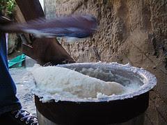 Making Fufu in Africa