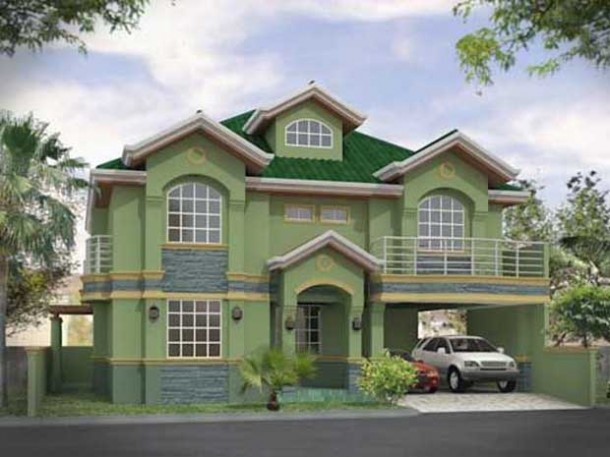 New home designs latest.: Modern homes Exterior designs ... on Modern House Painting Ideas  id=43440