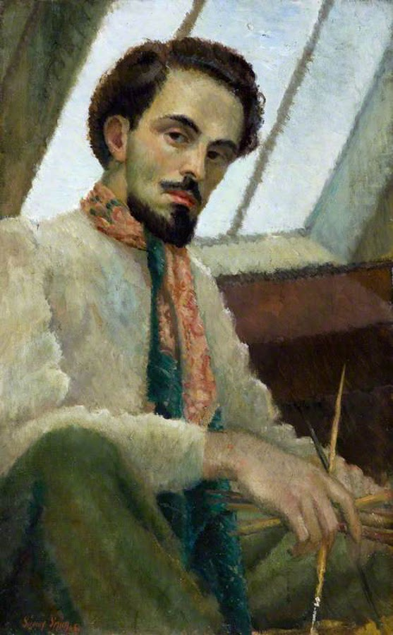 Sidney Smith, Self Portrait, Portraits of Painters, Fine arts, Portraits of painters blog, Paintings of Sidney Smith, Painter Sidney Smith
