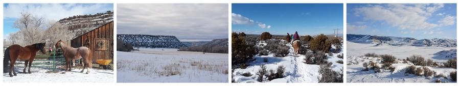 Colorado sous la neige
