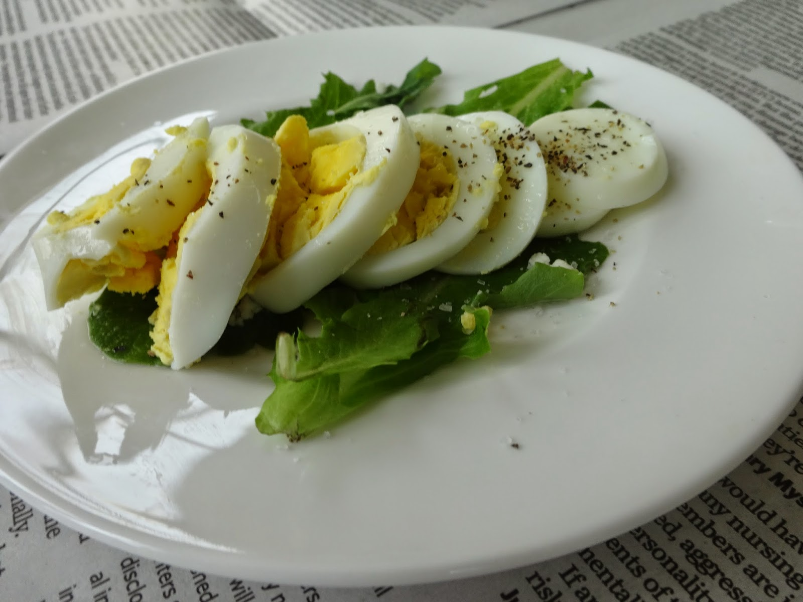salad, egg, simple, diy ,healthy, fresh