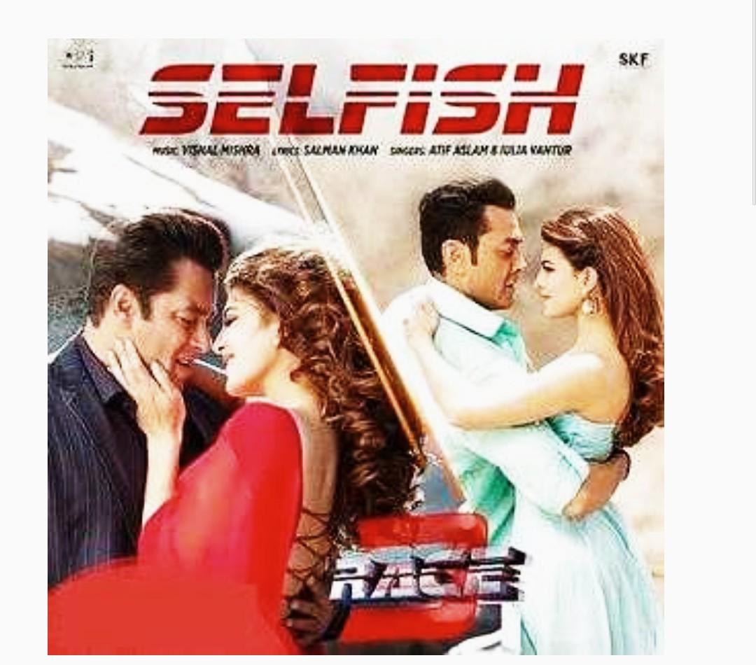 race 3 selfish mp3 song