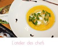 Un atelier culinaire avec le fromage AOP Beaufort à l'Atelier des chefs