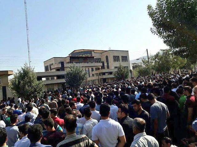 Protests in Iran after Border Guards Kill 2 Kurds