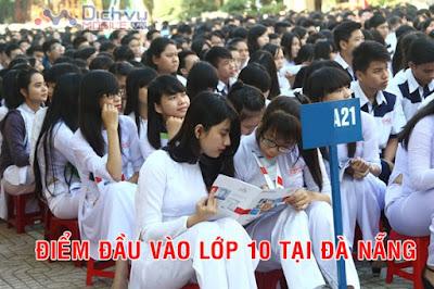 Điểm chuẩn vào lớp 10 của các trường THPT tại Đà Nẵng