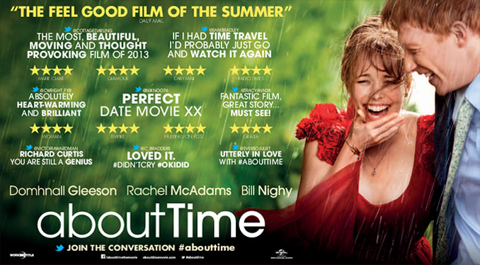 review film time travel cinta about time