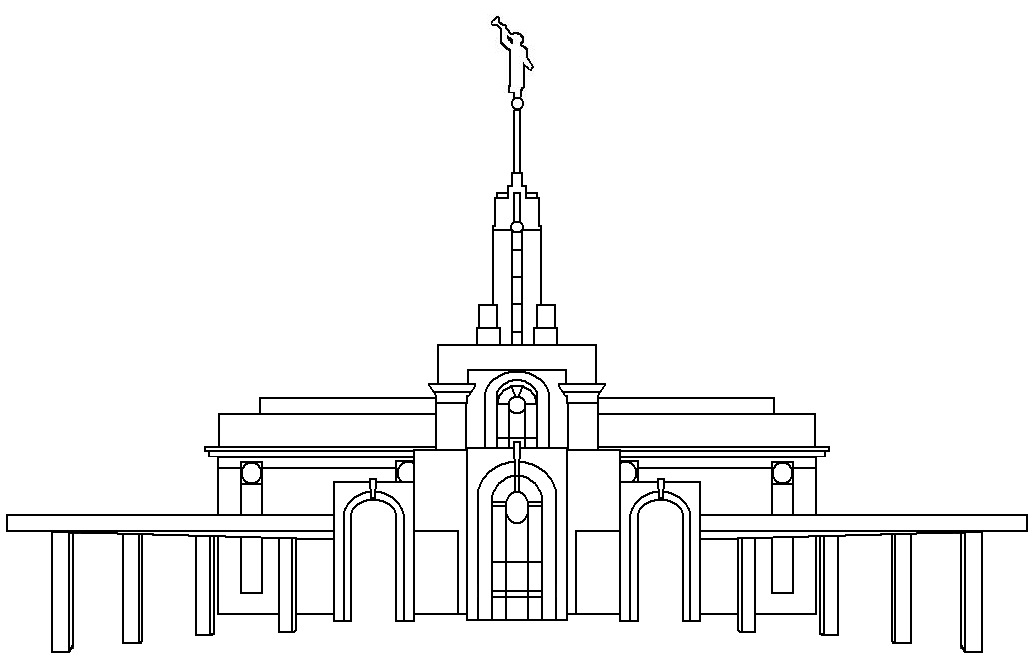 Lds Free Color Page Timpanogos Temple