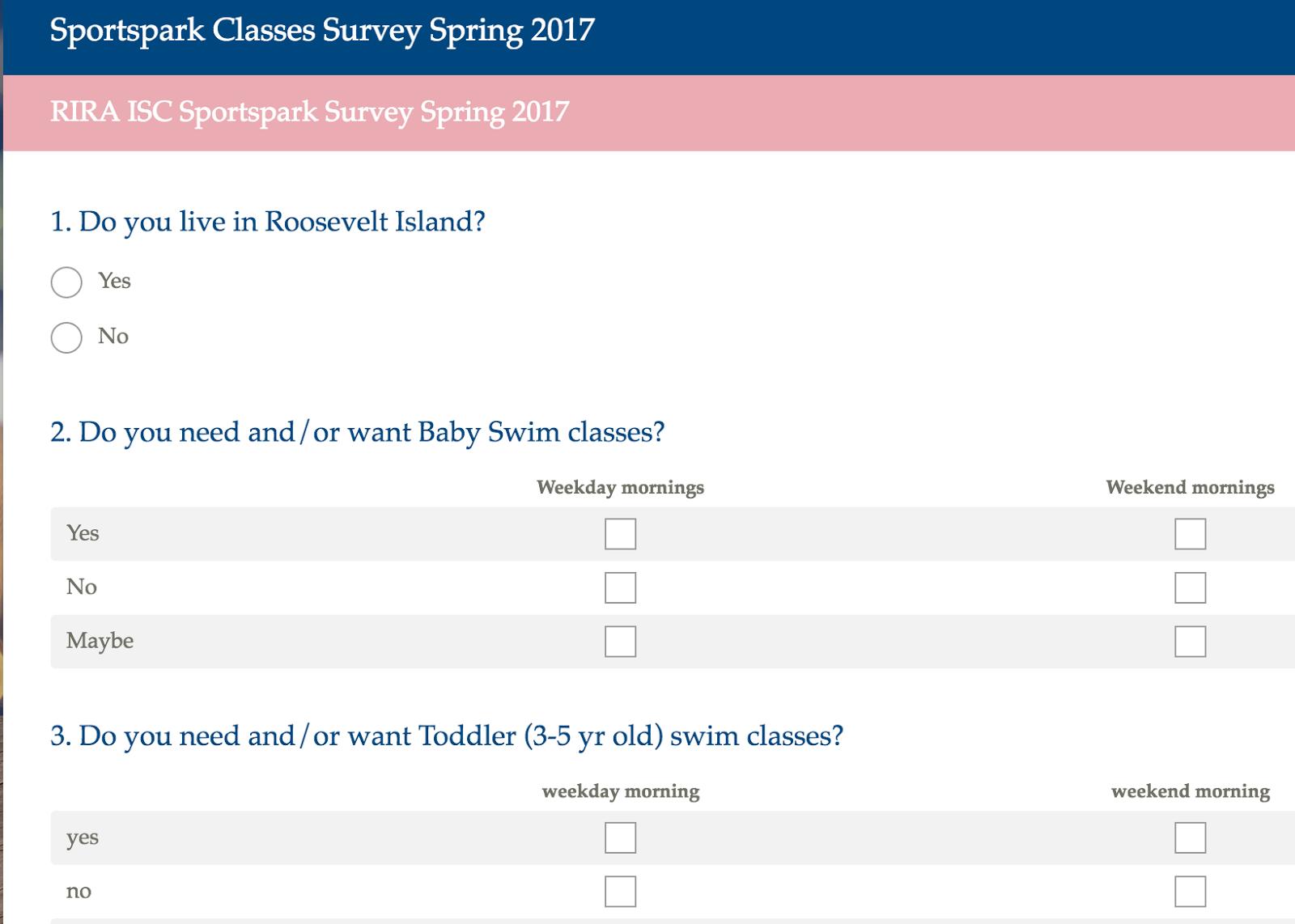 Roosevelt Islander Online Resident Reviews Newly Re