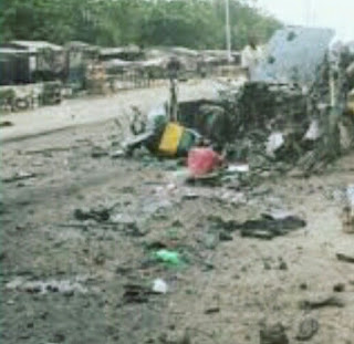 unkown bombers attacked Borno