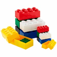 Legos - White background, but on a white page
