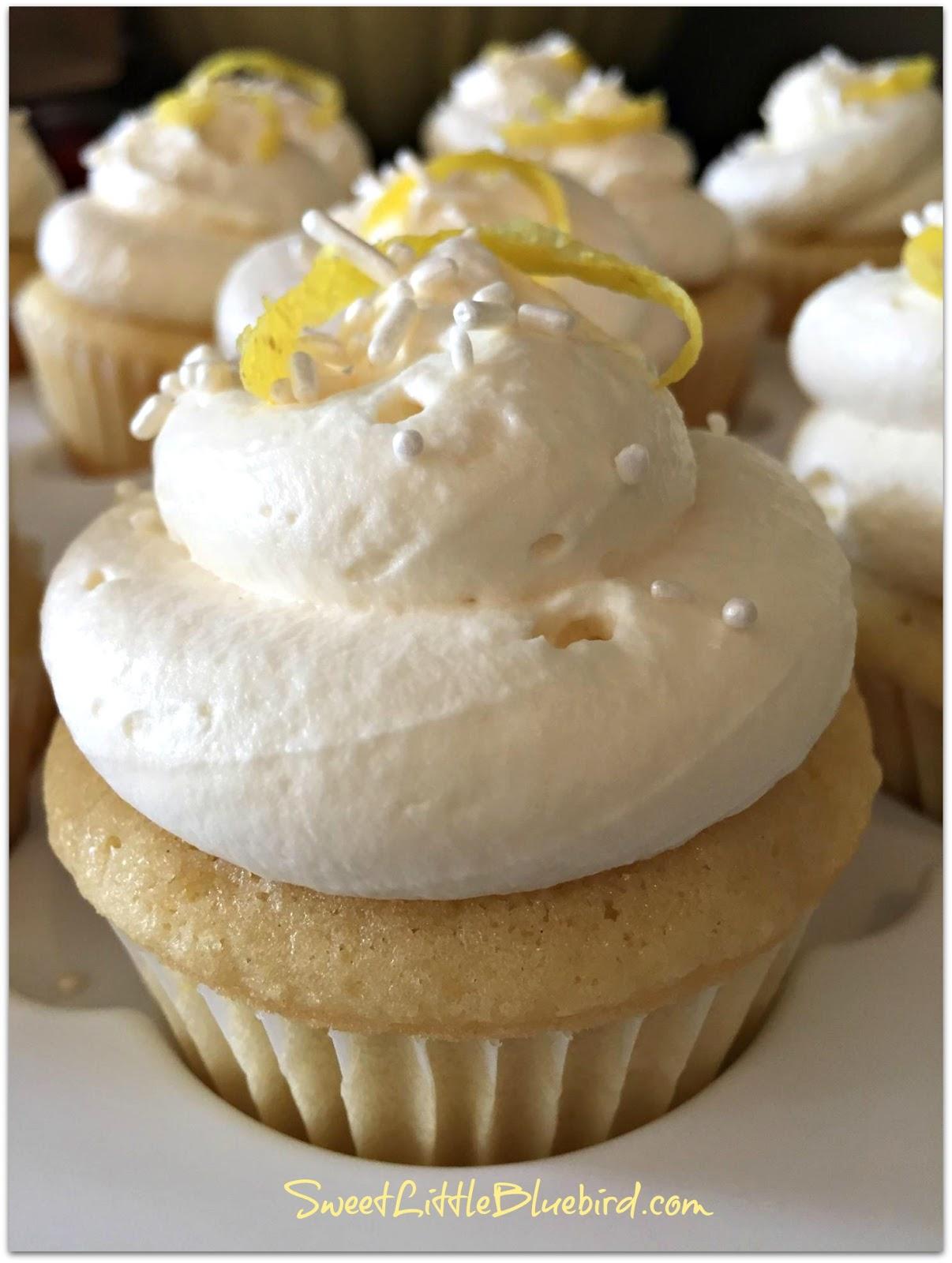 Lemon Whipped Cream Frosting Cake