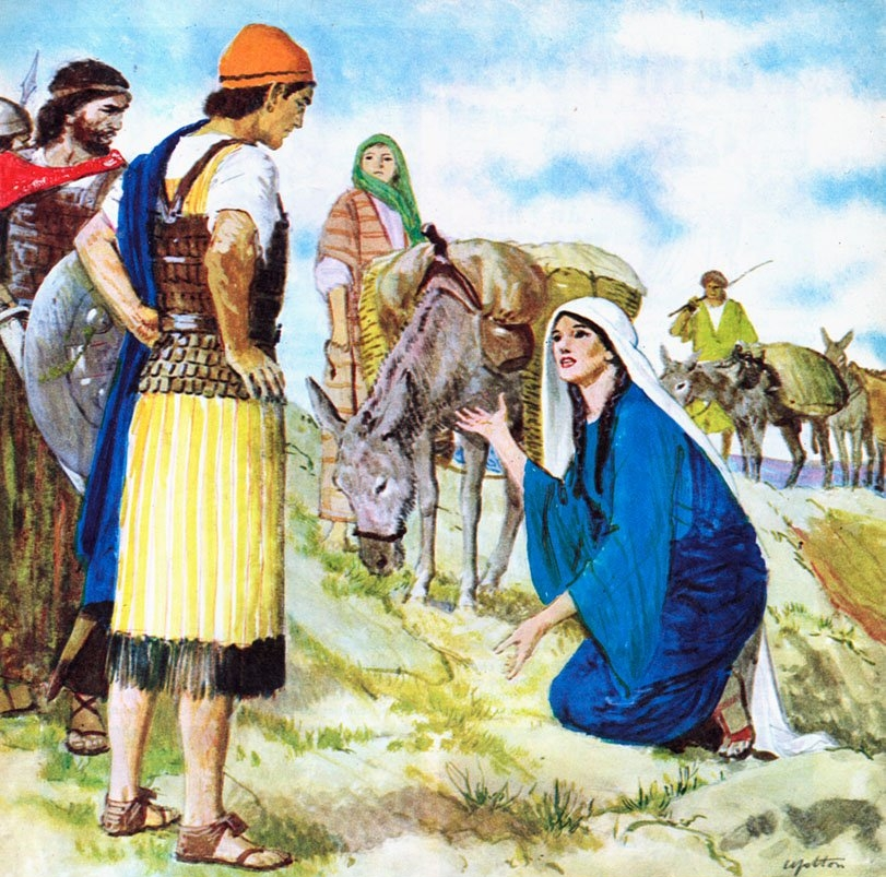 Nabal refused to even feed the hungry men that were with David.